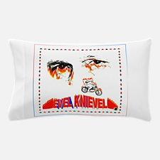 Evel Knievel Pillow Case