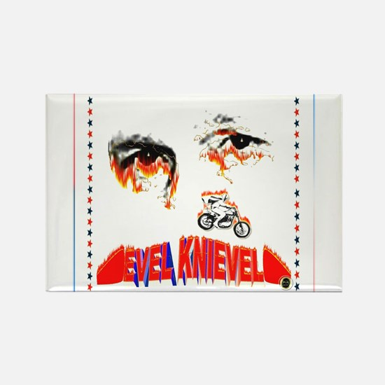 Evel Knievel Magnets