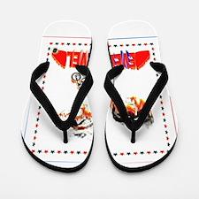 Evel Knievel Flip Flops