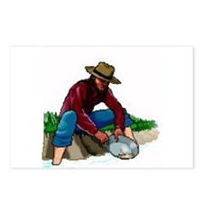 Gold Panning Postcards (Package of 8)