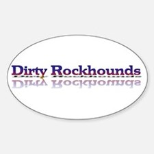 Dirty Rockhounds Oval Decal
