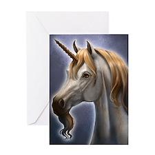 Unicorn Portrait Greeting Card
