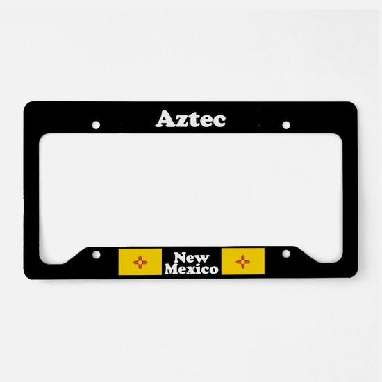 Aztec NM - LPF License Plate Holder