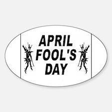 April Fools Day Decal