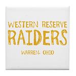Western Reserve Raiders Tile Coaster