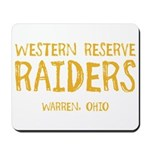 Western Reserve Raiders Mousepad