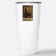 Unique Jesus was a liberal Travel Mug