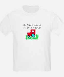 My Other Carseat is On a Tractor Toddler Tee T-Shi