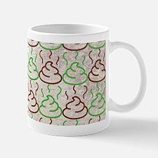 Poop Pattern Mugs
