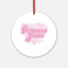 """""""Princess Jada"""" Ornament (Round)"""