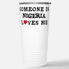 Cute Nigeria Travel Mug