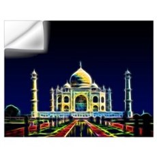Taj Mahal, Agra, India Wall Art Wall Decal