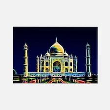 Taj Mahal, Agra, India Rectangle Magnet