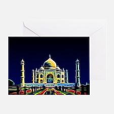 Taj Mahal, Agra, India Greeting Card