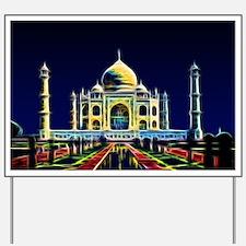 Taj Mahal, Agra, India Yard Sign