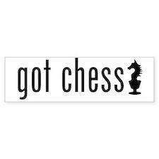 got chess? Bumper Sticker