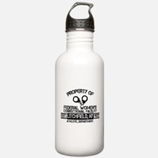 OITNB Federal Womens Water Bottle