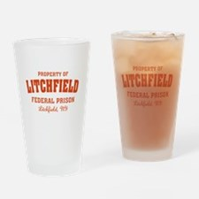 OITNB Litchfield Federal Prison Drinking Glass