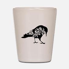 Fancy Raven Shot Glass