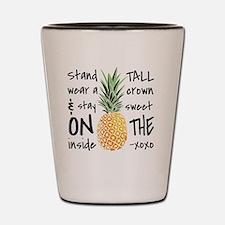 Unique Pineapples Shot Glass
