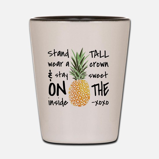 Funny Tall Shot Glass