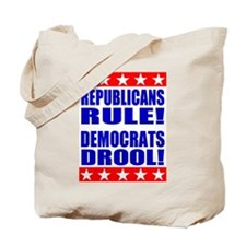 Cute Republicans rule Tote Bag