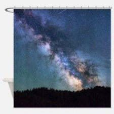 Milky Way Stars Shower Curtain