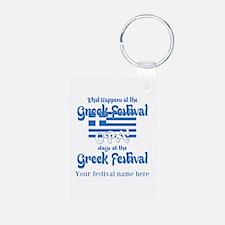 Greek Festival Keychains