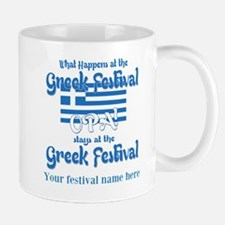 Greek Festival Mugs