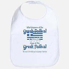 Greek Festival Bib