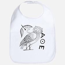 Athenian Owl Bib