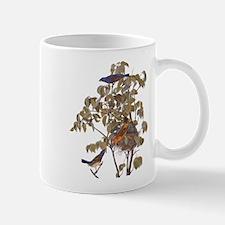 Blue Grosbeak Birds Vintage Audubon Art Mugs