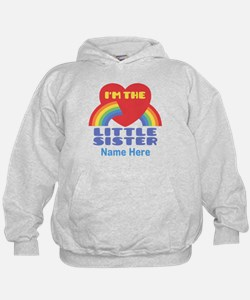 I'm The Little Sister Personalized Hoodie