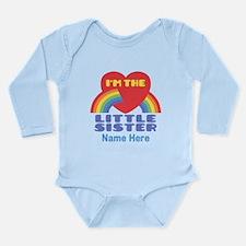 I'm The Little Sister Long Sleeve Infant Bodysuit