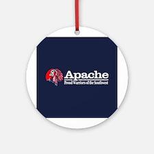 Apache Round Ornament