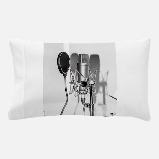 Microphone recording equipment for voc Pillow Case