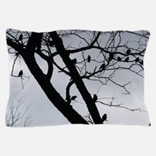 Cute A murder of crows Pillow Case