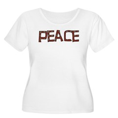 Anti-war Peace Letters T-Shirt