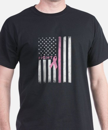 Ribbon Flag Fight T-Shirt