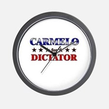 CARMELO for dictator Wall Clock