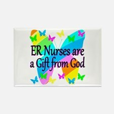 ER NURSE FAITH Rectangle Magnet