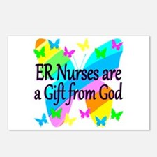 ER NURSE FAITH Postcards (Package of 8)