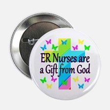 """ER NURSE FAITH 2.25"""" Button"""