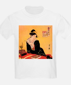 Immortal Poets by Chobunsei Eishi T-Shirt