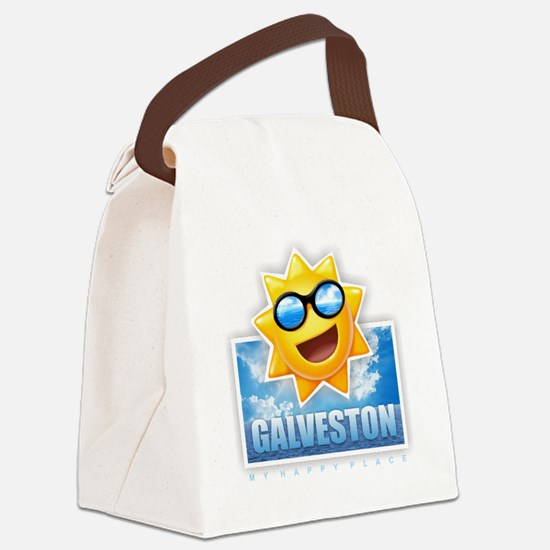 Galveston Canvas Lunch Bag