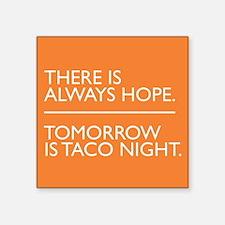 OITNB Taco Square Sticker 3