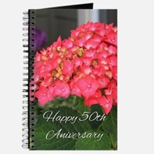 50th Anniversary Hydrangea Flower Journal