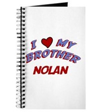 I Love My Brother Nolan Journal