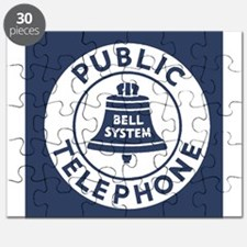 Bell Telephone Background- Logo Puzzle