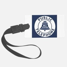 Bell Telephone Background- Logo Luggage Tag